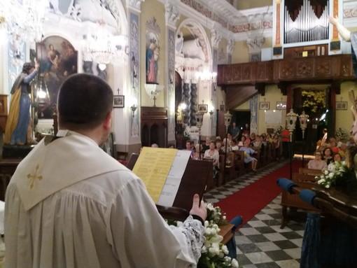 Pontedassio: ieri sera alla Chiesa di San Rocco a Villa Viani la festa del Patrono (Foto)