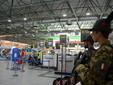 Militari in servizio di pattugliamento presso Aeroporto di Caselle Torinese