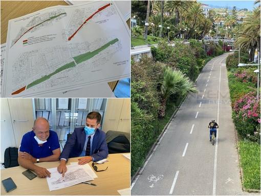 """Sanremo: adesso è ufficiale, Amaie Energia ha acquistato la pista ciclopedonale. Gorlero: """"Momento storico"""" (Foto e Video)"""