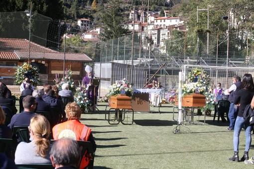 Oggi i funerali di Marco Lanteri e Maurizio Moraldo: lo struggente ricordo dell'amico Gianni Calvi