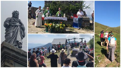 Triora: 120 anni per la Festa al Redentore: il Covid non ferma la tradizionale cerimonia in cima al Monte Saccarello