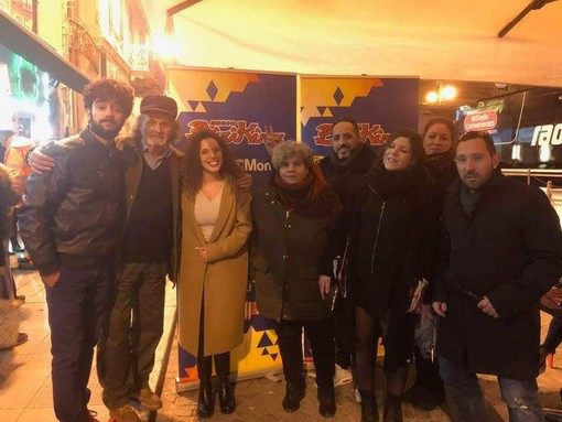 Sanremo: successo per il casting del Festival Show in piazza Colombo  (foto e video)