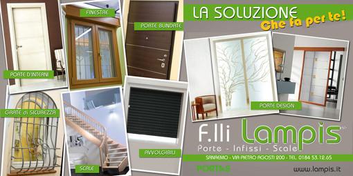 Desideri acquistare o sostituire le finestre e la porta d'ingresso? Dai Fratelli Lampis a Sanremo, fino al 31 dicembre potrai beneficiare della detrazione fiscale del 50%!