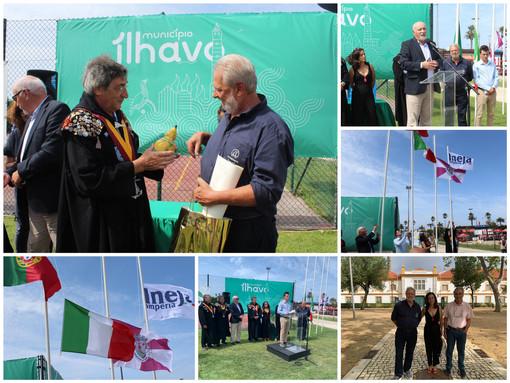 Imperia e Ilhavo insieme nel segno del baccalà, la delegazione di Ineja protagonista in terra portoghese (Foto e video)