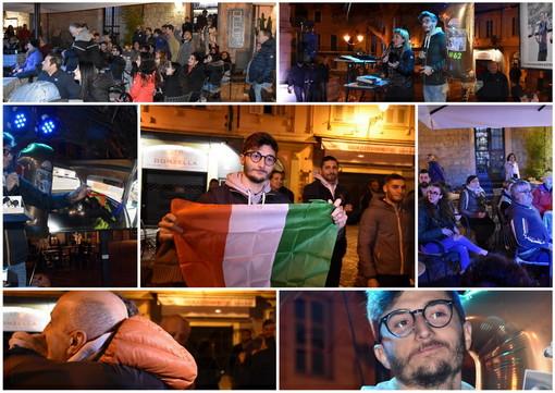 Sanremo: festa a sorpresa ieri sera in piazza Eroi per il campione del mondo matuziano Kevin Liguori (Foto e Video)