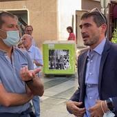 Da sinistra, Fulvio Fellegara e Nicola Fratoianni
