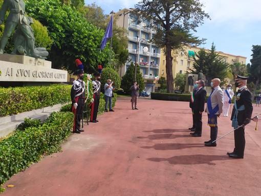 Imperia: Festa della Repubblica provinciale alla presenza delle massime autorità in piazza della Vittoria (Foto)