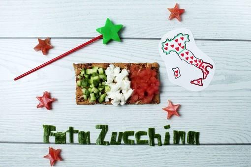 Felici & Veloci, la nuova ricetta di Fata Zucchina: Bruschetta tricolore