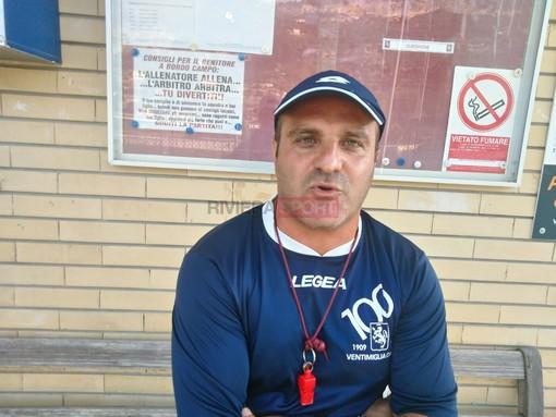 Fabio Luccisano, allenatore del Ventimiglia