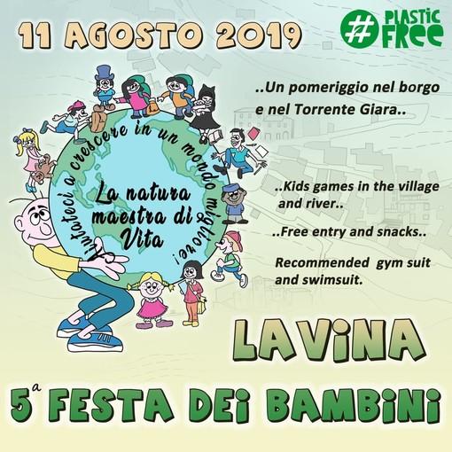 L'11 agosto, appuntamento per i più piccoli a Lavina di Rezzo per la quinta edizione della 'Festa dei Bambini'