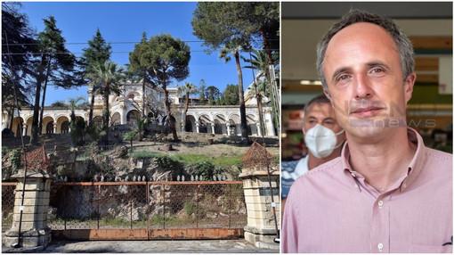 """Ospedaletti: villa Sultana, il consigliere regionale Sansa """"Non lasciamo che diventi un condominio"""""""