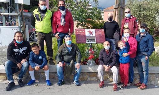 Il Toro Club Sanremo depone una corona di fiori nell'anniversario della strage di Superga
