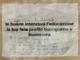 Il foglio originale scritto da Morgan a Sanremo