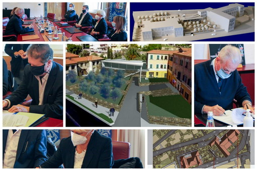 Imperia: firmato protocollo d'intesa per un 'Polo Sociale' in via Agnesi, ecco il progetto di Comune, Casa di Riposo e ISAH