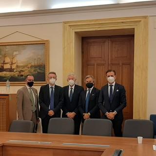 Accolti a Roma dal Ministro Gaetano Manfredi gli esponenti della 'Filasc' al Ministero dell'Università e della Ricerca Scientifica