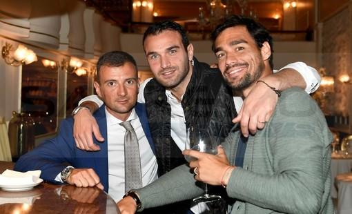 Sanremo: ieri sera al 'Gilda' festa per l'ingresso nella 'Top Ten' del ranking Atp per Fabio Fognini (Foto)
