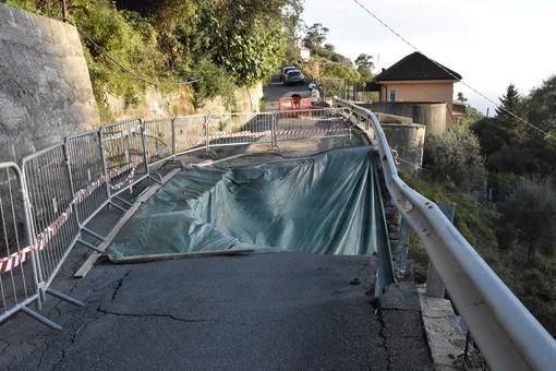 Sanremo: per il pronto intervento in strada Valloni-Tasciaire, gli abitanti ringraziano il Sindaco e Amministrazione comunale
