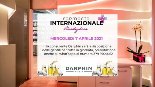 Giornata promozionale Darphin: prenota la tua consulenza gratuita con la Beauty Specialist Darphin alla Farmacia Internazionale di Bordighera