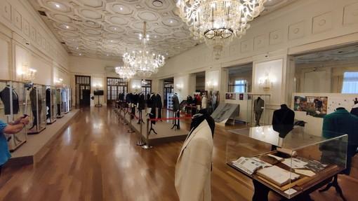 Esposizione 'Il Festival della Moda Maschile 1952-1990. La grande Bellezza dei Maestri Sartori' al Casinò di Sanremo