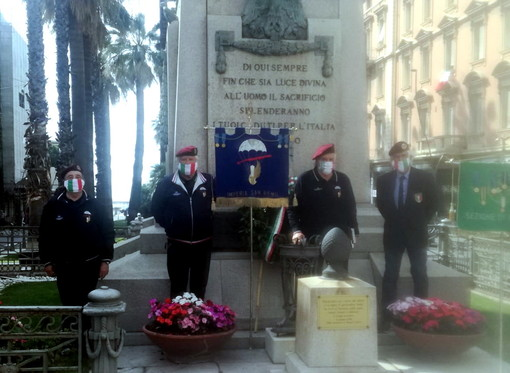 Sanremo: anche quest'anno si è svolta la Festa della Repubblica, deposta una corona d'alloro (foto)