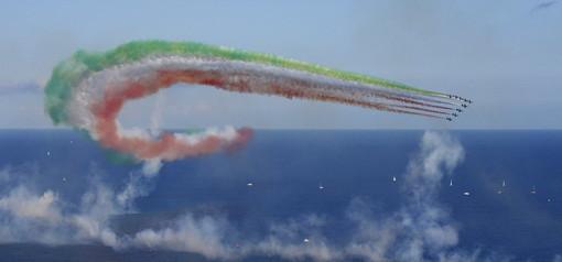 Sanremo: le foto di Gianpaolo Benini allo spettacolo delle 'Frecce Tricolori'