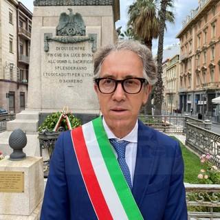 Alberto Biancheri, sindaco di Sanremo