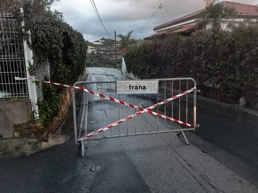 Sanremo: ancora nulla di fatto per la frana a Bussana, un residente chiede lumi all'amministrazione