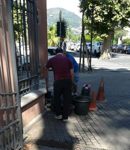 Ventimiglia: non si placa il caso della fontanella ai giardini 'Reggio', nuovo duro attacco di 'Progetto 20k'