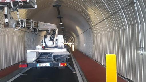 Imperia: danno alla volta della galleria Gastaldi a Porto Maurizio, già iniziati i lavori e riapertura a breve (Foto)