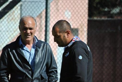 Nella foto Gianni Minori, attuale Direttore Sportivo del Taggia ed ex preparatore dei portieri della Sanremese