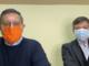Da sinistra, Giovanni Toti e Silvio Falco