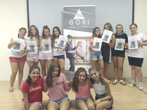 """Parrucchieri si diventa: ecco le """"piccole"""" protagoniste del corso di fashion style organizzato dalla Gori Hair School"""