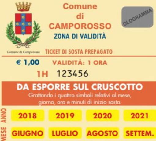 Camporosso: sponsor per le schede 'Gratta e sosta', il Comune emana il bando che scade il 1° luglio