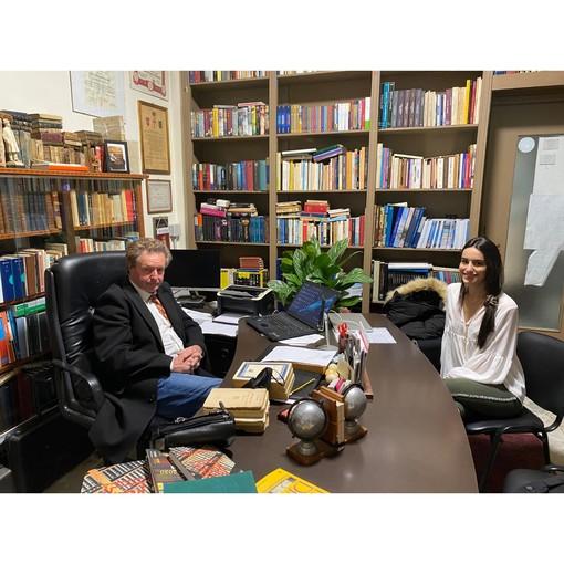 Target: l'Istituto Galileo Galilei ad Arma di Taggia vanta una delle biblioteche private più fornite d'Italia