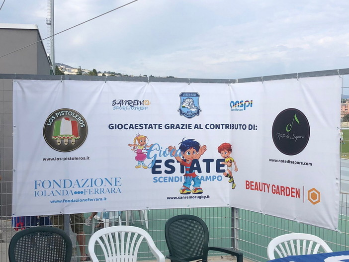 Sanremo: ieri la grande festa per il successo del 'Gioca Estate' del rugby, oltre 140 i partecipanti (Foto)