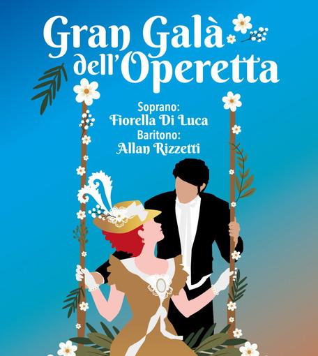 Sanremo: domenica 'Gran Galà dell'Operetta', tutto esaurito per Fiorella Di Luca e Allan Rizzetti a Villa Ormond