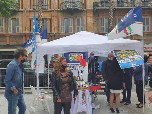 Ventimiglia: oggi e sabato prossimo in via Repubblica il gazebo informativo di Fratelli d'Italia