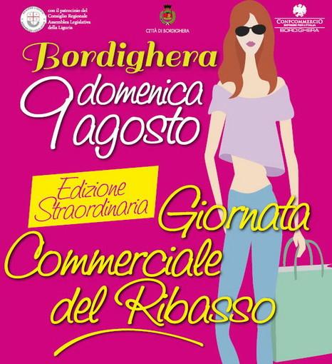 Bordighera: domenica prossima edizione straordinaria della Giornata commerciale del ribasso'