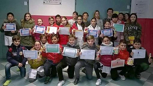 Ventimiglia:  concluse le prime selezioni dei giochi matematici all'Istituto Comprensivo 'Biancheri' (Foto)