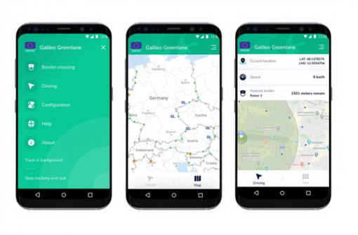 Anche a Ventimiglia potrebbe essere usata l'app 'Galileo Green Lane' per velocizzare la circolazione delle merci