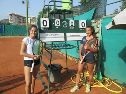 Tennis: il CT La Signoretta (Roma) e Ata Battisti Trentino (Trento) domani in finale per il titolo di Campione d'Italia u16 femminile