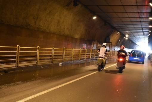 Sanremo: nuovi lavori di Amaie all'interno della galleria Francia, stanotte chiusura tra le 21 e le 3