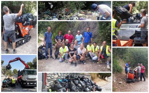 Ventimiglia: sabato pulizia vicino a Ponte San Luigi, ma 'Kesha Niya' non si presenta, le accuse di 'Terre di Grimaldi' (Foto)