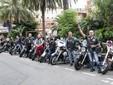 Il Harley Davidson Club di Monaco a Menton
