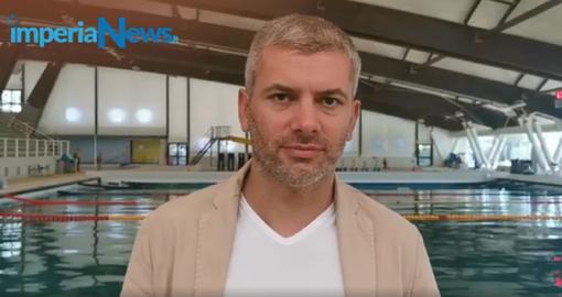 """Imperia, riapre la piscina 'Cascione'. Il direttore dell'impianto Matteo Gai:"""" Vogliamo riportare la Nazionale di pallanuoto in città. Ripartiamo dalle nuove leve."""" (Video)"""