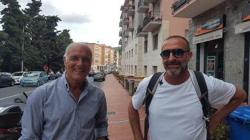 Alfredo Bencardino e Alessandro Lupo: l'Imperia è in Serie D