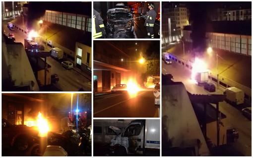 Sanremo: due incendi in due ore a 300 metri di distanza, sale il sospetto che possano essere dolosi