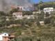 Imperia, boschi a fuoco: domato dopo 6 ore l'incendio di Panegai. In serata nuovo intervento dei pompieri a Bestagno