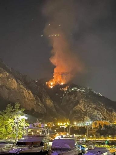 Ventimiglia: incendio in frazione Grimaldi, i ringraziamenti della SOMS a vigili del fuoco e volontari