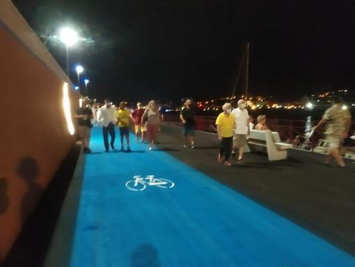 Imperia: cerimonia di inaugurazione della passeggiata a mare di lunedì scorso, il commento di Sinistra Italiana
